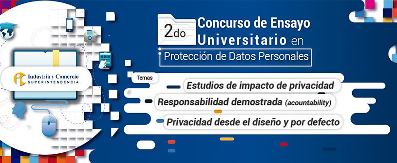 Inicia el Segundo Concurso de Ensayo Universitario en protección de datos personales