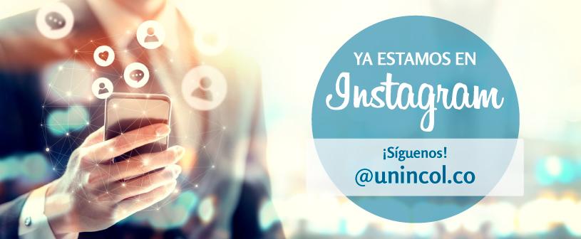 UNINCOL estrena cuenta oficial de INSTAGRAM