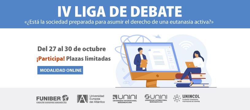 UNINCOL participa en la IV Edición de la Liga de Debate universitaria