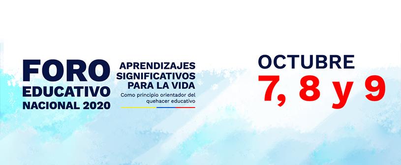 La rectora de UNINCOL asistirá al Foro Educativo Nacional 2020