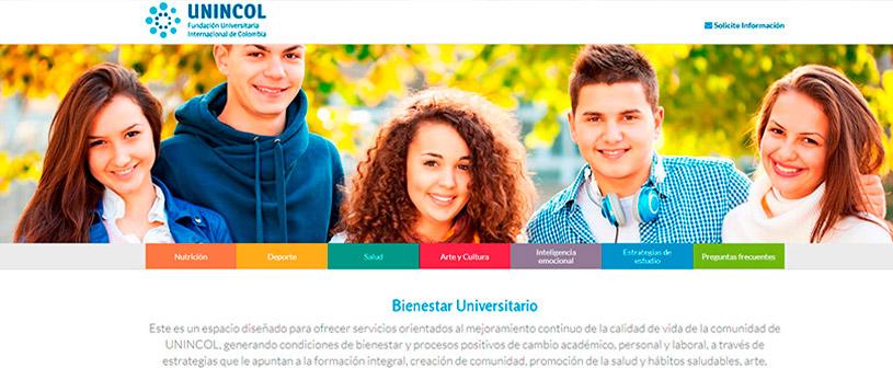 El área de Bienestar Universitario de UNINCOL cumple 3 años desde su creación