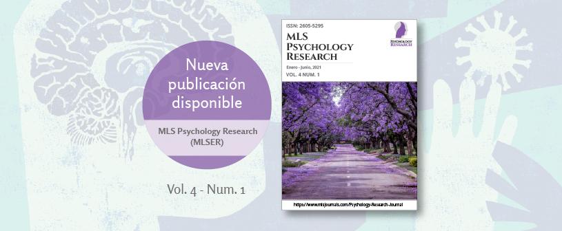 Nuevo número de la revista MLS Psychology Research, patrocinada por UNINCOL