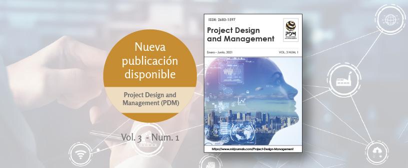 Nuevo número de la revista Project Design and Management, patrocinada por UNINCOL